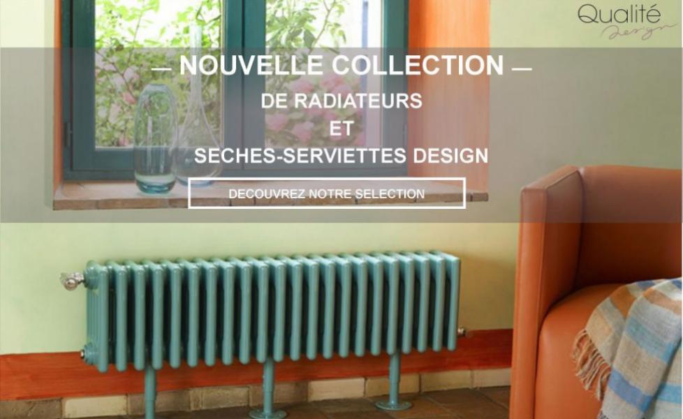Qualit design radiateur design robinet de salle de for Radiateur salle de bain design