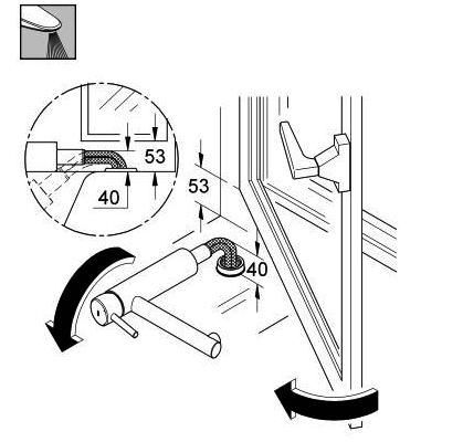 Mitigeur vier grohe concetto bec orientable escamotable for Robinet cuisine rabattable grohe