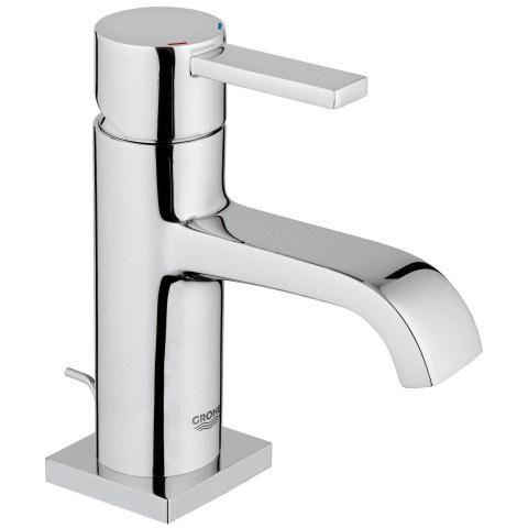 Mitigeur Grohe Allure pour lavabo version bec bas mousseur 32757000