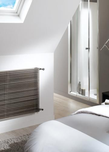 radiateur chauffage central acova striane horizontal double vtd. Black Bedroom Furniture Sets. Home Design Ideas